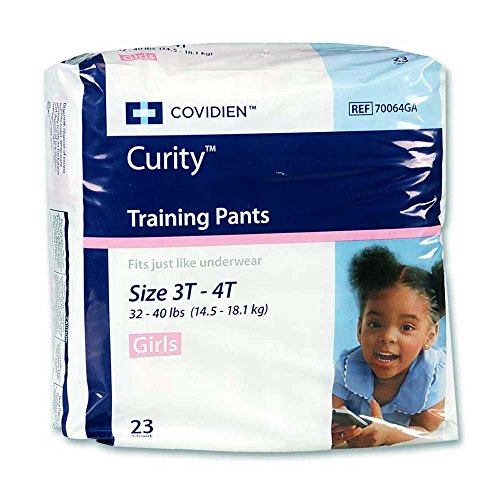 CURITY Training Pants, Curity Girls Train Pant Lg, (1 CASE, 92 ()