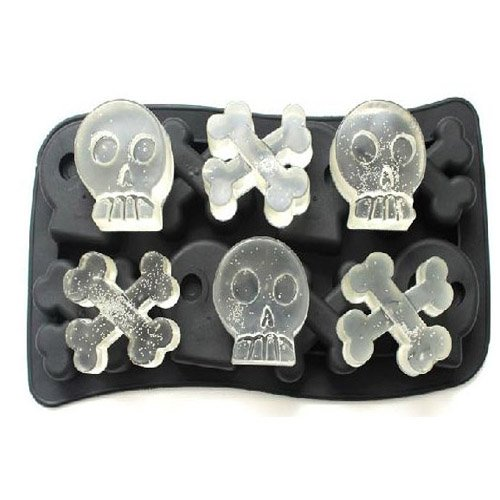 Wall of Dragon Skull Mold Silicone Mold Cooking Tools Cookie Cutter Ice Molds Ice Trays Ice Cream Tools Ice Cube Tray, random color