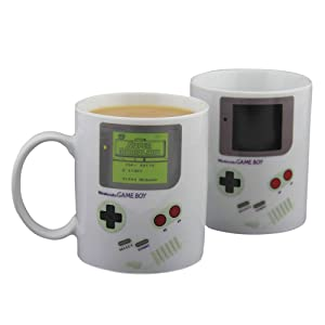 Paladone Gameboy Heat Changing Coffee Mug - Gift for Gamers, Fathers, Coffee Enthusiasts