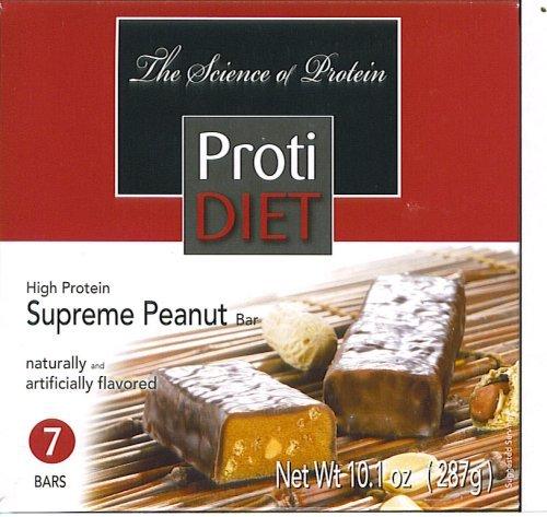 Protidiet Supreme Peanut High Protein Bars