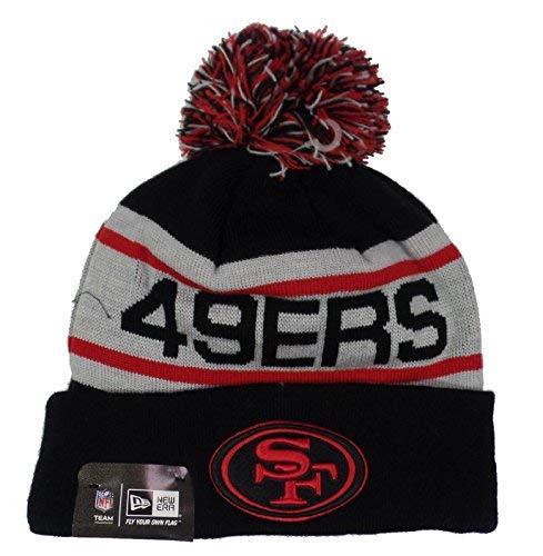 New Era Mens Biggest Fan Redux San Francisco 49ers Black Team Red One Size Fits All