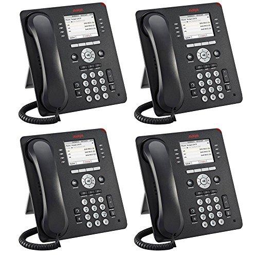 Avaya 9611G 4 PACK IP Gigabit Office Phone 700510904 -  Avaya Inc.