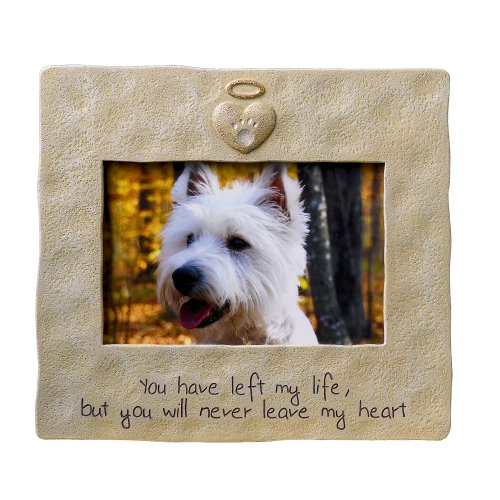 Grasslands Road Pet Memorial Picture Frame, 4 by 6-Inch -