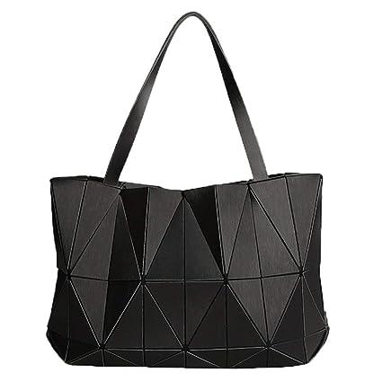 Geometría Señoras Bolsos de Hombro Bolsas de triángulo Mate ...