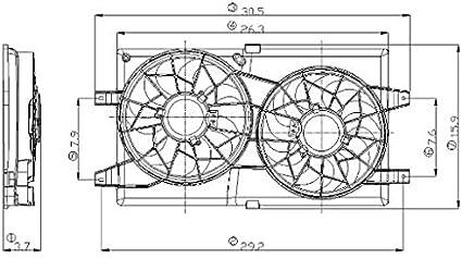 Mundial partes distribuidores 2811549 Asamblea del ventilador del ...