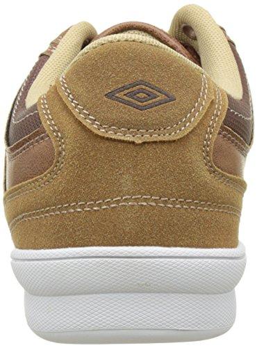 Umbro Um Canley, Zapatillas de Baloncesto para Hombre marrón (camel)