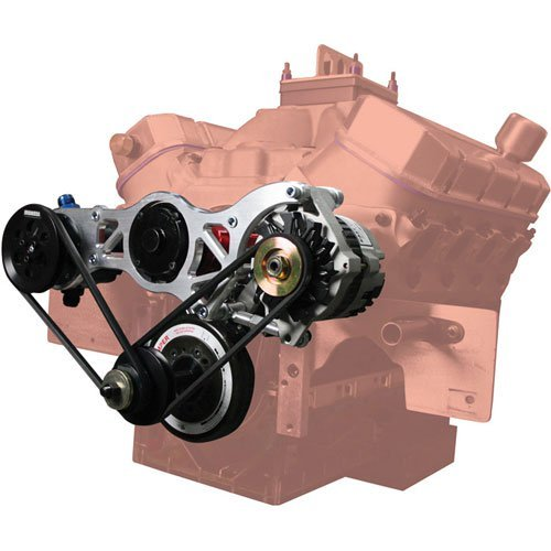 Moroso 63866 Alternator/Vacuum Pump Mounting Bracket - Brackets Alternator Moroso