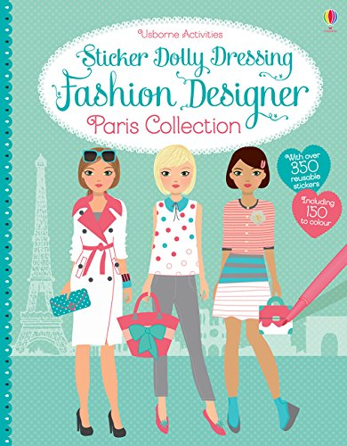 Sticker Dolly Dressing Fashion Designer Paris Collection - Les Dollies Fashion