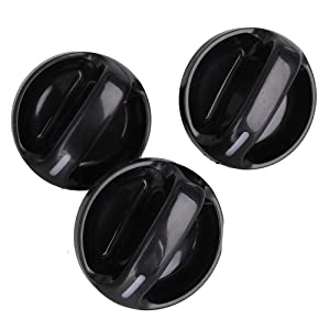 SHINEHOME 55905-0C010 3PCS AC Climate Control Knobs for Toyota Tundra 2000-2006 Air Conditioner Heater Control Switch Knob Air Conditioner Switch knob AC Fan Switch Knob 559050C010