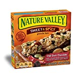 quest bars 72 - Nature Valley Granola Bars, Sweet and Spicy, Chili Dark Chocolate, 6 Count (Pack of 12)