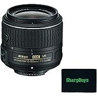 Nikon 18-55mm f/3.5-5.6G VR II AF-S DX NIKKOR Zoom Lens (White Box) Lens For Nikon D40, D40x, D50, D60, D70, D70s, D90, D3000, D3100, D3200, D3300, D5000, D5100, D5200, D5300, D7000, D7100, D100, D200, D300, D300s Digital SLR Cameras