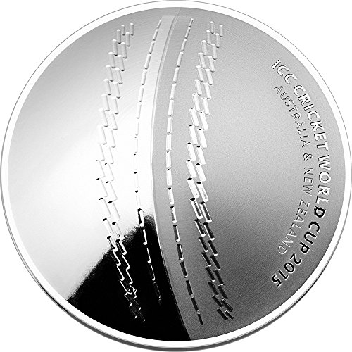 2015 AU Modern Commemorative ICC CRICKET WORLD CUP Silver Proof Coin 5$ Australia 2015 Proof (Cup World Cricket 2015)