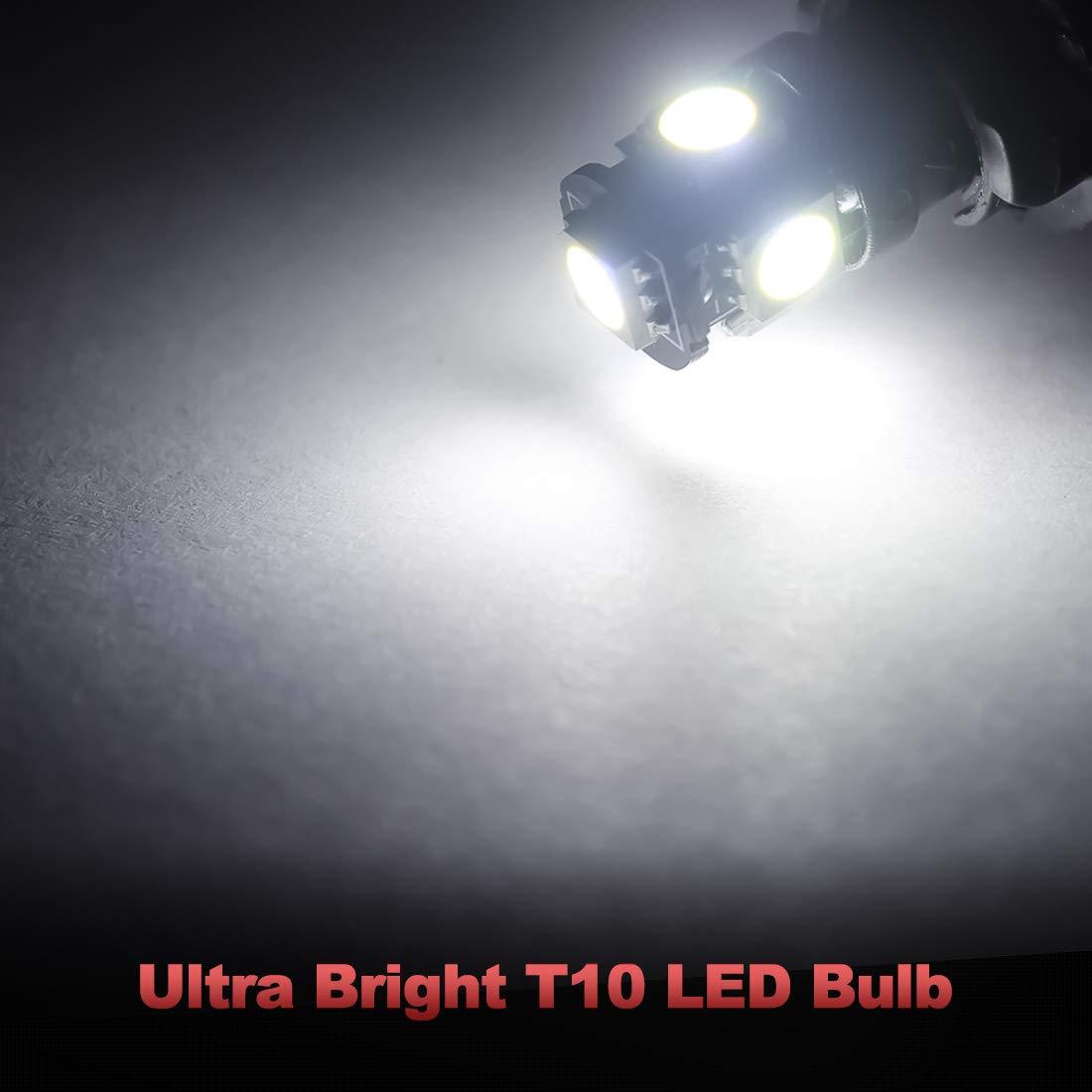 3175 LED Bulbs Yorkim 31mm Festoon LED Bulbs White Super Bright LED Interior Car Lights Error Free CANBUS 6-SMD 5730 Chipsets DE3022 LED DE3175 LED Bulb Pack of 4