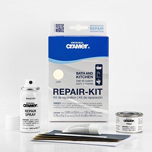 - Cramer Bath and Kitchen Enamel Repair Kit (Biscuit)