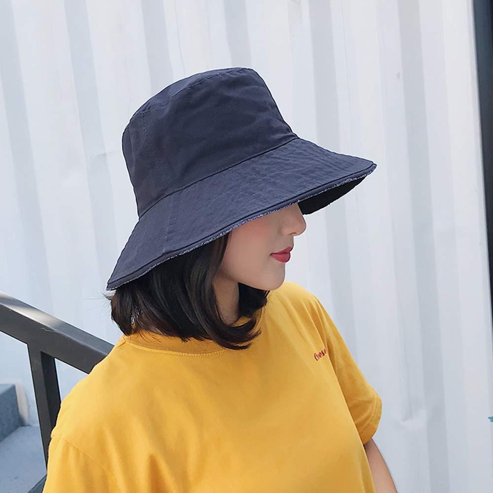 min MinMin Sun Hat - Unisex Harajuku Bucket Hat Fishing Outdoor Hip Hop Cap Men's Summer for Fisherman Hat Women Outdoor Sun Hat (Color : E)