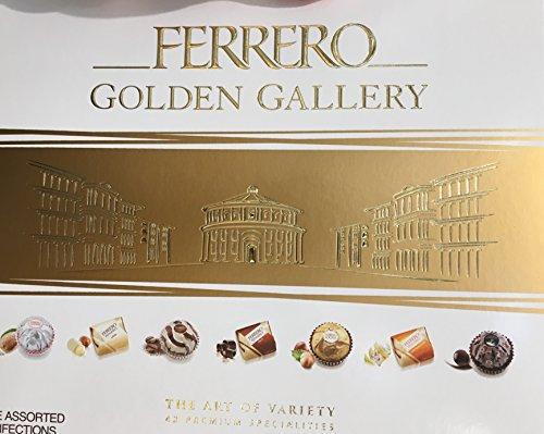 Golden Gallery 42 Piece Ferrero, 13.7 Ounce