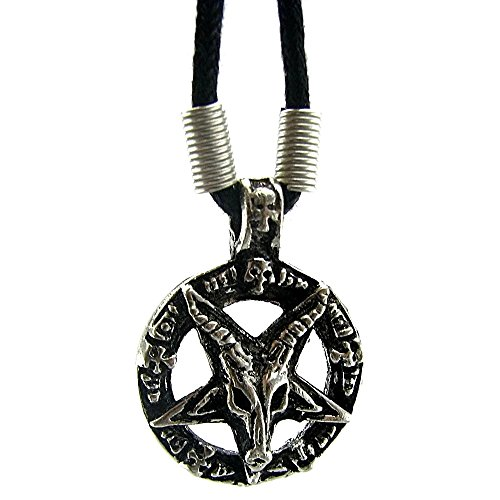 devil pentagram necklace - 7