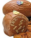 Philadelphia Candies Fudge Pecan Nut Easter Egg, Milk Chocolate 8 Ounce Gift Box