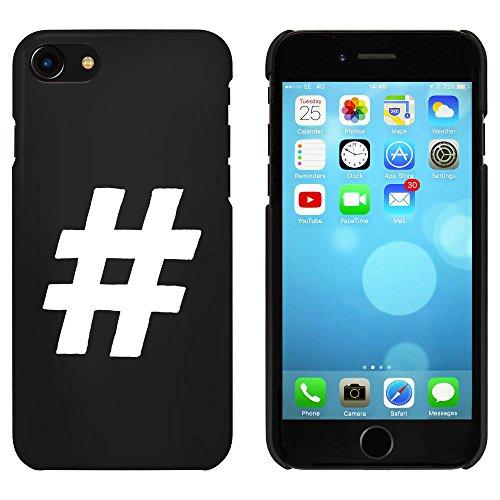 Noir 'Symbole de Hachage' étui / housse pour iPhone 7 (MC00059069)