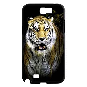 Powerful tiger Design Pattern Hard Skin Back Case Cover Potector For For Samsung Galaxy Note 2 Case FKGZ441873