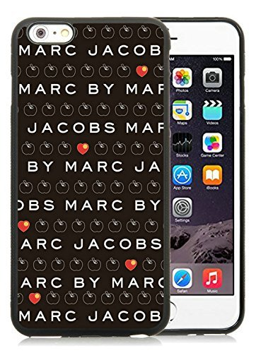 Iphone 6 Plus Cases Custom Design Marc by Marc Jacobs 12 Cell Phone Tpu Cover Case for Iphone 6 Plus 5.5 Inch Black