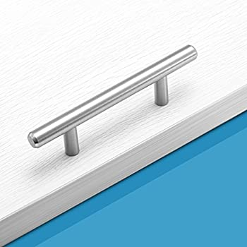 Amazon.com: Probrico T Bar Cabinet Pulls Stainless Steel Kitchen ...