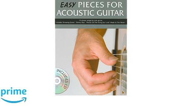Easy Pieces for Acoustic Guitar (Book & CD): Amazon.es: Mark Currey: Libros en idiomas extranjeros
