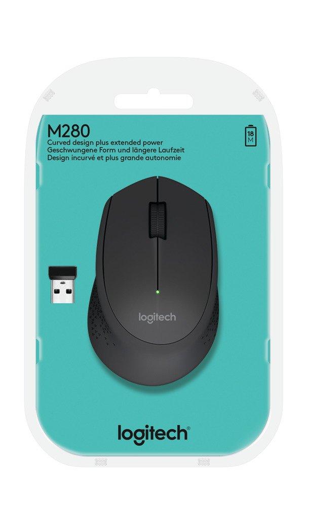 Logitech M280 2 4 Ghz Wireless Mouse Grey