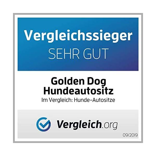 513e77ikAhL Golden Dog Hundeautositz Hundesitz Hundebett Kunst Leder Autokörbchen Autositz (S (45x35 cm), Anthrazit) TESTSIEGER 2019…