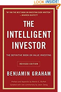 Benjamin Graham (Author), Jason Zweig (Author), Warren E. Buffett (Collaborator) (1593)  Buy new: $22.99$12.98 276 used & newfrom$4.57