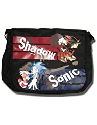 Great Eastern Entertainment Sonic The Hedgehog Sonic & Shadow Messenger Bag