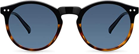 Meller Kubu Collection - Gafas de sol polarizadas unisex UV400 minimalista rodondo