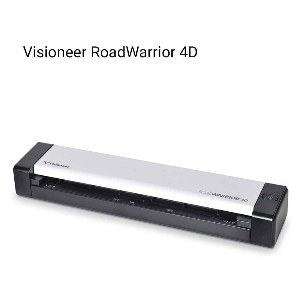 Visioneer RoadWarrior 4D Duplex Mobile Scanner