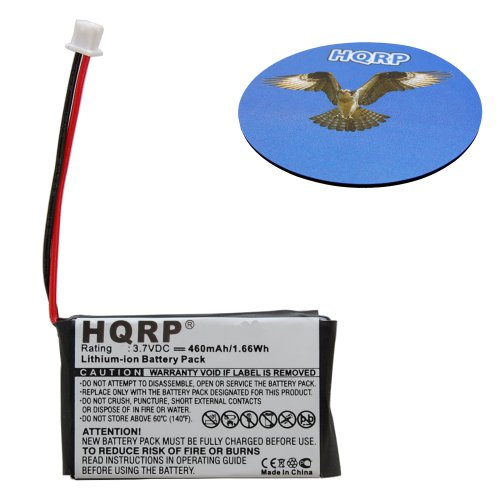 HQRP Battery for Nintendo Game Boy Micro Game Console OXY-00
