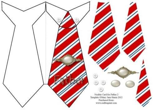 Tarjeta corbata para Papá Noel 2 por Mary Jane Harris: Amazon.es ...