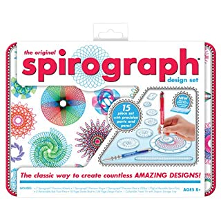 Kahootz Spirograph Design Tin Set (B009VE38D2) | Amazon price tracker / tracking, Amazon price history charts, Amazon price watches, Amazon price drop alerts
