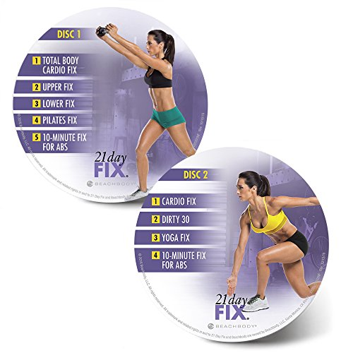 21 Day Fix Ultimate Kit Workout Program – Includes 2 sets of Portion control containers by Beachbody (Image #4)