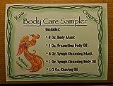 Body Care Sampler-Raw & Organic, 6 Oz. Body Mask Mask, 1 Oz. Dreamtime Body Oil, 6 Oz. Lymph Cleansing Mask, 1 Oz. Lymph Cleansing Body Oil, 1/2 Oz. Shaving Oil offers