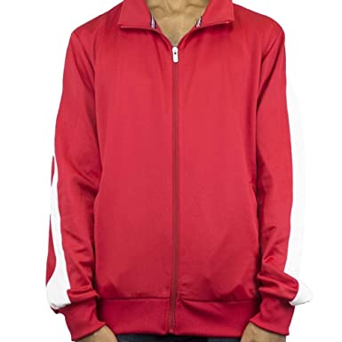 Imperious Track Jacket Red White At Amazon Men S Clothing Store