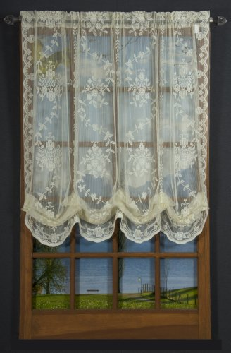 """D. Kwitman and Son Sterling Lace 63"""" Balloon Panel Ivory"""