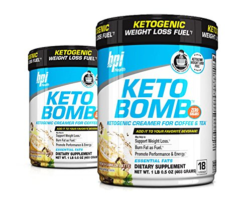 BPI Sports Keto Bomb Creamer French Vanilla (Pack of 2)
