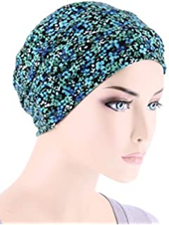 f3e33840ea0 Chemo Cap Womens Soft Printed Beanie Sleep Turban Hat Headwear for Cancer  Patients