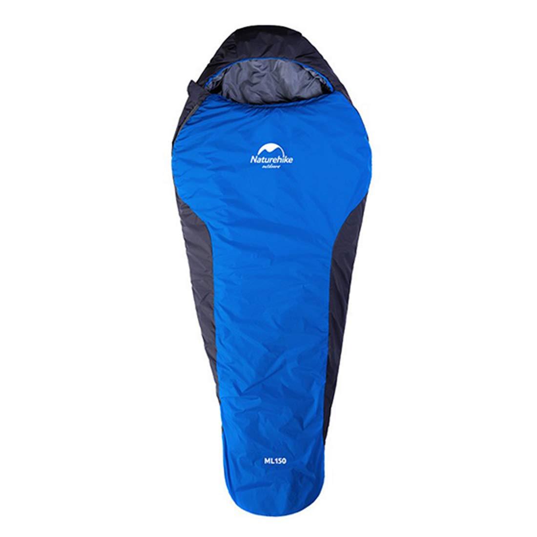 CUBCBIIS 圧縮袋/ミイラでのバックパッキングのための4-9℃ オレンジ) -/超軽量の寝袋 - 快適温度範囲 (Color ブルー : オレンジ) B07N4ZC2T9 ブルー ブルー, 新和町:7748c344 --- itxassou.fr