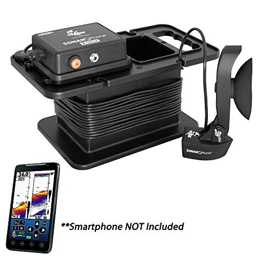 Vexilar SP300 T-Box Smartphone Fish Finder with Portable Case, Black by Vexilar
