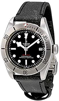 Tudor Heritage Black Bay Chronometer Automatic Men's Leather Watch