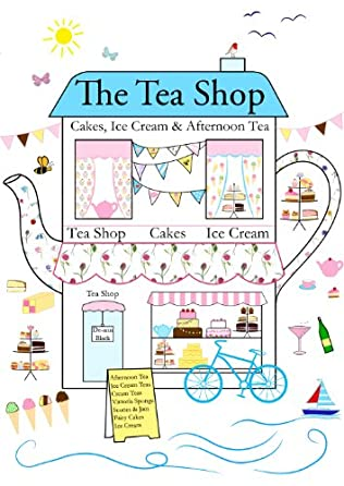 book cover of The Tea Shop