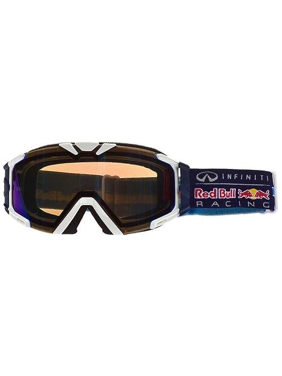 Hombres gafas de nieve Red Bull Racing gafas Lesmo - Colour blanco mate: Amazon.es: Deportes y aire libre