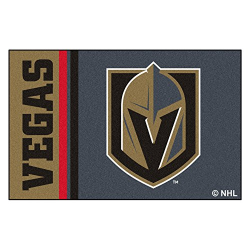 NHL Vegas Golden Knights Starter Mat Rectangular Area Rug