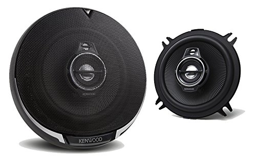 2) New Kenwood KFC-1395PS 5.25″ 320 Watt 3-Way Car Audio Coaxial Speakers Stereo