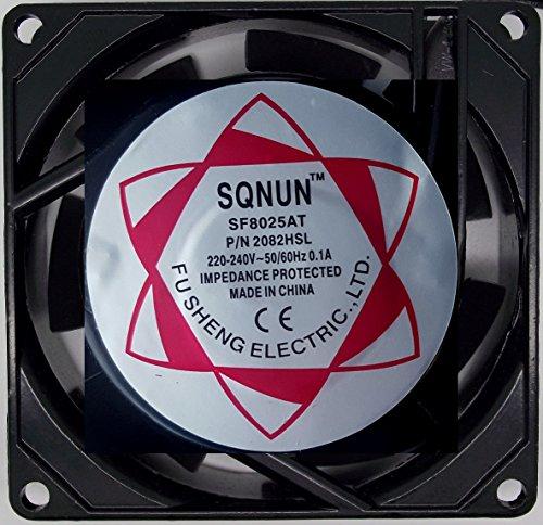 220/240V Biltong Maker Fan 80mm x 80mm x 25mm